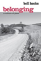 Belonging : a culture of place