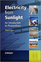Electricity from sunlight : an introduction to photovoltaics