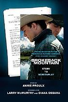 Brokeback Mountain : story to screenplay