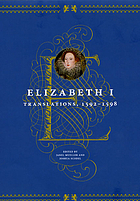 Elizabeth I : translations, 1592-1598