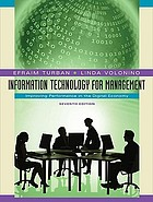 Information technology for management : improving performance in the digital economy