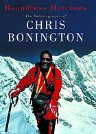 Boundless horizons : the autobiography of