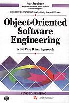 Object-oriented software engineering : a use case driven approach