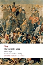 Hannibal's war. Books twenty-one to thirty