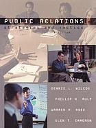 Public relations : strategies and tactics
