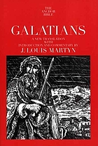 Galatians : a new translation with introduction and commentary