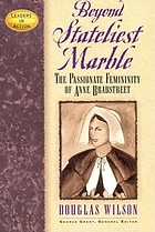 Beyond stateliest marble : the passionate femininity of Anne Bradstreet