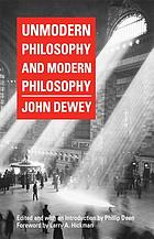 Unmodern philosophy and modern philosophy