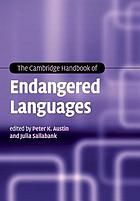 The Cambridge Handbook of Endangered Languages