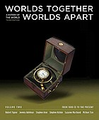 Worlds together, worlds apart . Volume Two : from 1000 CE to the present