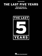 The last 5 years : vocal selections
