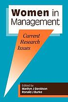 Women in management : current research issues