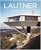 Lautner : space age architecture