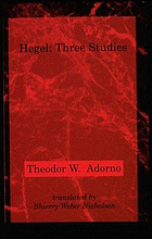 Hegel : three studies