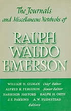 The journals and miscellaneous notebooks of Ralph Waldo Emerson. Vol. 9, 1843-1847 edited by Ralph H. Orth [and] Alfred R. Ferguson.
