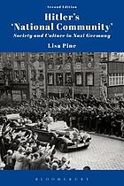 Hitler's 'national community' : society and culture in Nazi Germany
