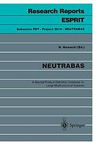 NEUTRABAS : a neutral product definition database for large multifunctional systems