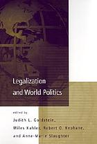 Legalization and world politics