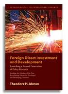Foreign direct investment and development : launching a second generation of policy research : avoiding the mistakes of the first, reevaluating policies for developed and developing countries