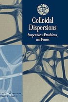 Colloidal dispersions : suspensions, emulsions, and foams