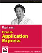 Beginning Oracle Application express