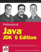 Professional Java JDK 6th edition