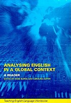 Analysing English in a global context : a reader