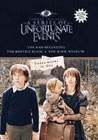 Lemony Snicket's A Series of Unfortunate Events : movie tie-in bind-up.