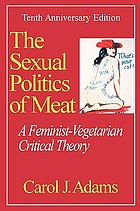The Sexual Politics of Meat: A Feminist-Vegetarian Critical Theory cover image