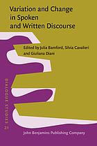 Variation and change in spoken and written discourse : perspectives from corpus linguistics