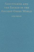 Sanctuaries and the Sacred in the Ancient Greek World cover image