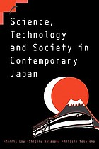 Science, technology and society in contemporary Japan