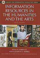 Information resources in the humanities and the arts.
