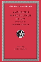 Ammianus Marcellinus, with an English translation