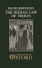 The Roman law of trusts.