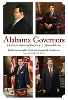 Alabama governors : a political history of the state