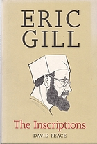 Eric Gill, the inscriptions : a descriptive catalogue
