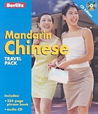 Mandarin Chinese travel pack.
