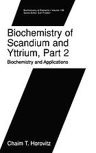Biochemistry of scandium and yttrium