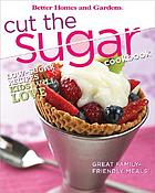 Cut the sugar cookbook.