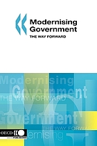 Modernising government : the way forward.