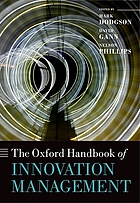 The Oxford handbook of innovation management