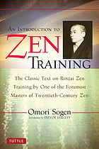 An introduction to Zen training : a translation of Sanzen nyumon