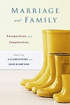 Marriage and family : perspectives and complexities