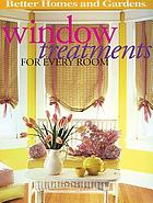 Window treatments for every room.