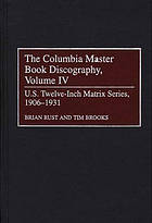 The Columbia master book discography.