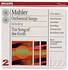 Orchestral songs : including The song of the Earth