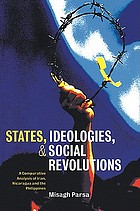 States, ideologies, and social revolutions : a comparative analysis of Iran, Nicaragua, and the Philippines