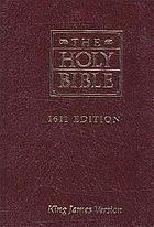 The Holy Bible : King James version : a word-for-word reprint of the first edition of the Authorized Version, presented in roman letters for easy reading and comparison with subsequent editions.