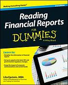 Reading Financial Reports For Dummies.